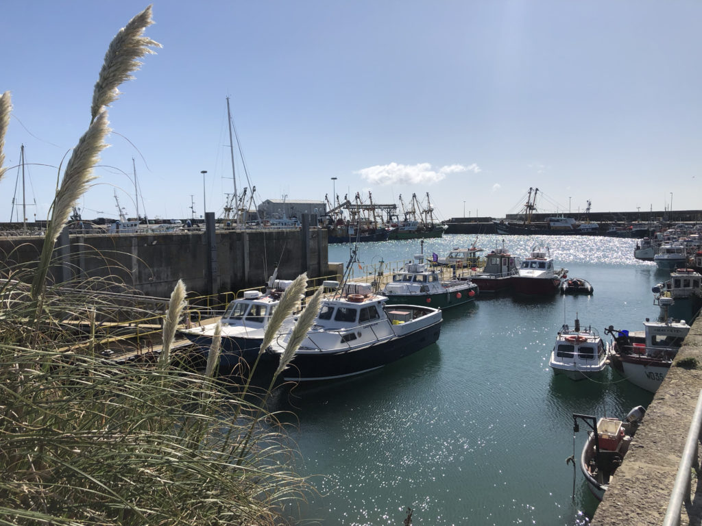 Just a stones throw from the picturesque marina