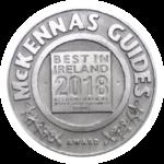 McKennas Guides - Best Food in Ireland 2018