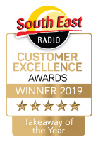 South East Radio Customer Excellence Awards - Takeaway of the Year 2019