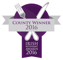 Irish Restaurant Awards - Best Casual Dining Wexford 2016